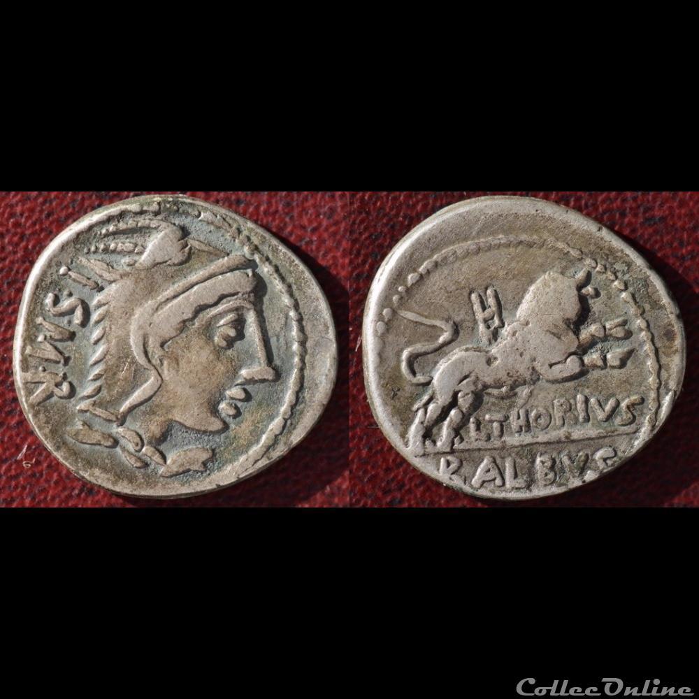 monnaie antique romaine thoria denier