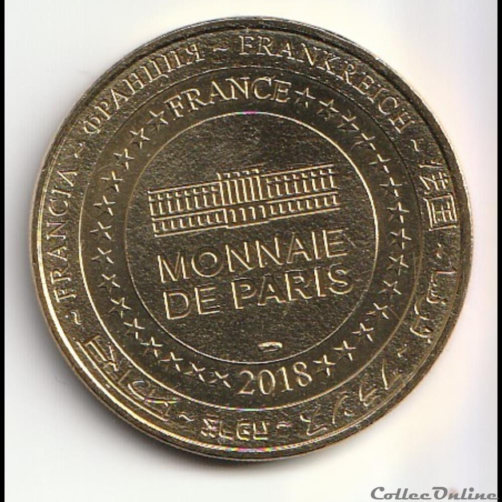 monnaie jeton mereaux france chateau de grignan