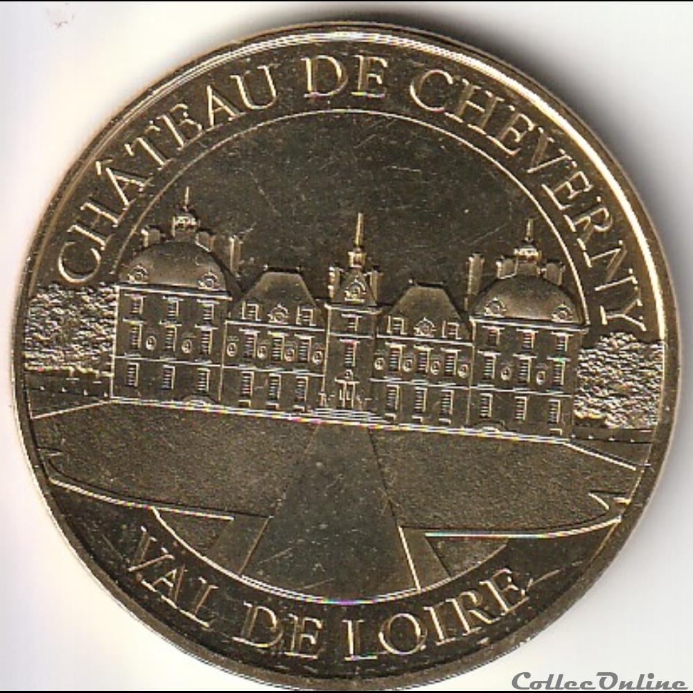 monnaie france chateau de cheverny val de loire