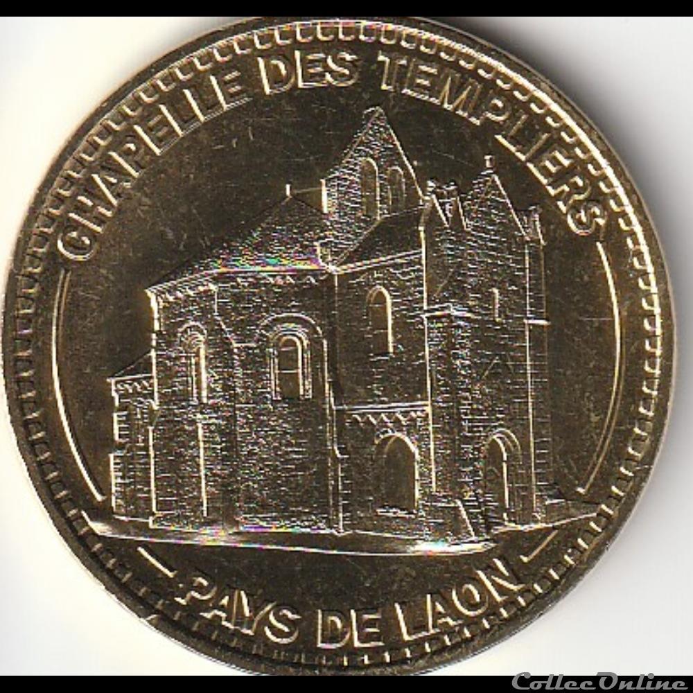 monnaie jeton mereaux france chapelle des templiers pays de laon