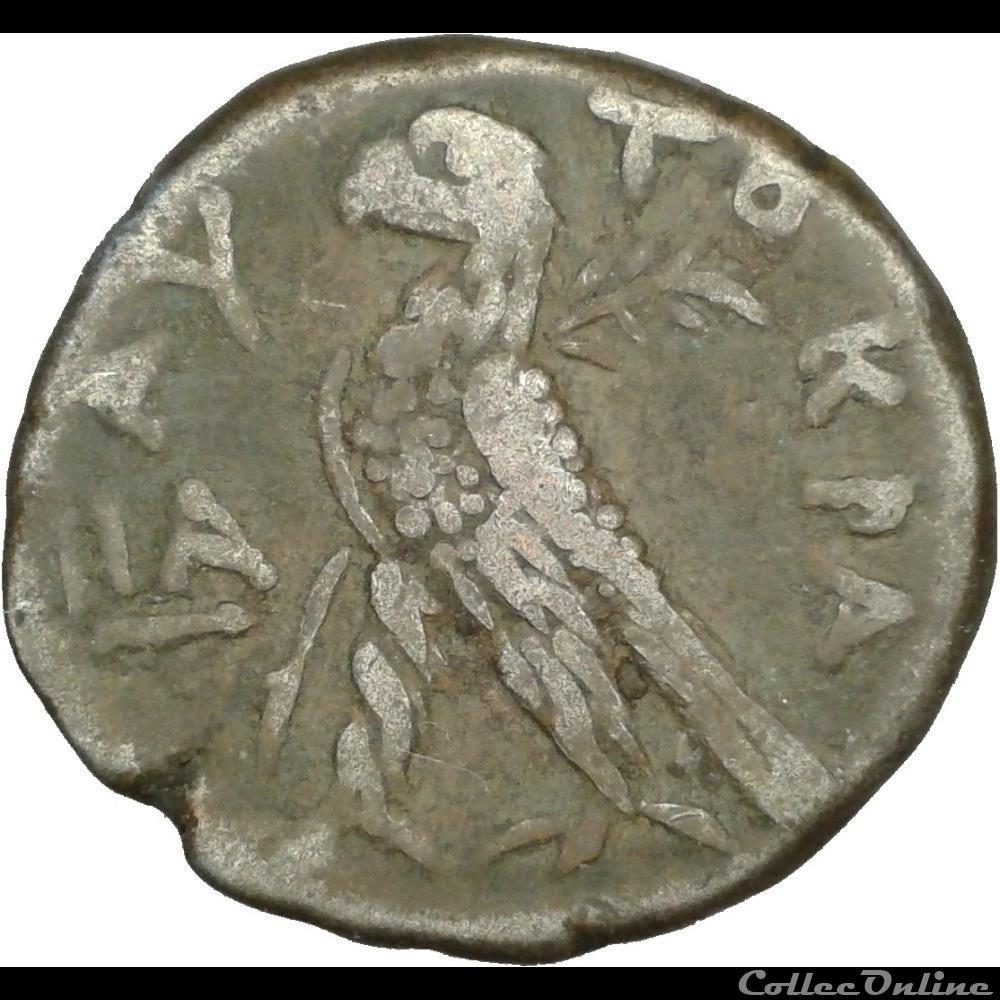 monnaie antique romaine provinciale alexandrie neron tetradrachme an 11