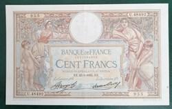100 francs Merson grandes cartouches