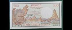 500 francs Djibouti ND 1988 P-36b