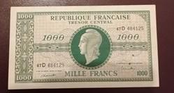 1000 francs Tresor P-107a.2