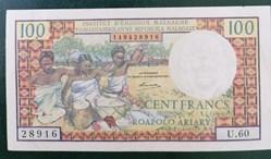 100 francs ND 1966 P-57a.2