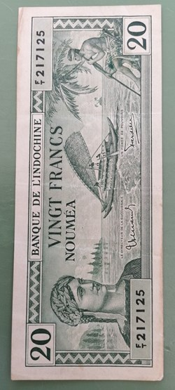 20 francs Nouméa P-49
