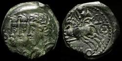 Bronze Remo Remo - bige à gauche