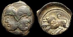 Bronze à la tête Janiforme - Classe 1