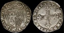 Quart d'écu de Navarre