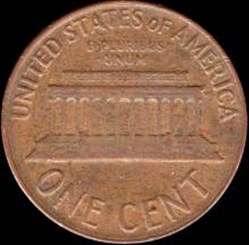 1 Cent (Lincoln , Memorial)