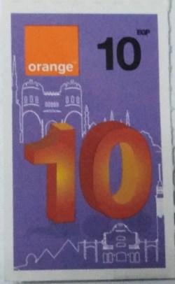 Orange 10 LE
