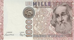 1,000 Lire