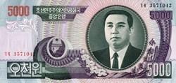 5,000 Won