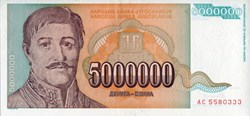 5,000,000 Dinara