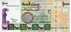 1,000 Sudanese Dinars