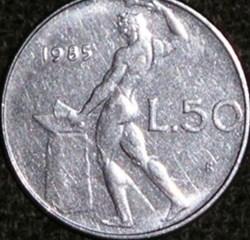 50 Lire (Vulcano - Large)