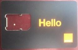 Orange SIM Card