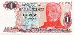 1 Peso Argentino