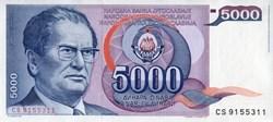 5,000 Dinara