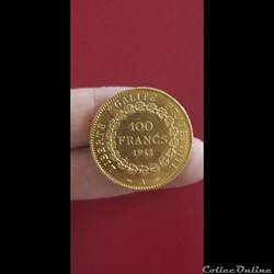 100 francs Genie 1911 A