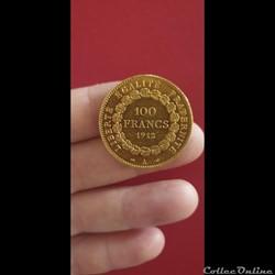 100 francs Genie 1912 A