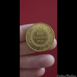 100 francs Genie 1904 A