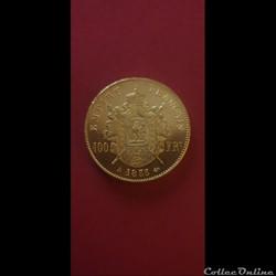 100 francs Napoléon 1855 A