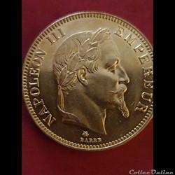 100 francs Napoléon 1862 A