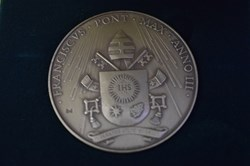 Official Annual Medal of Pope Francis