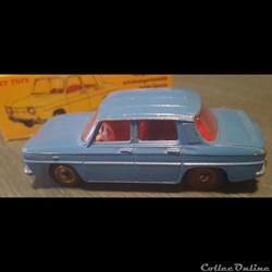 Renault R8 bleu