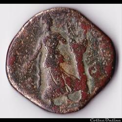 monnaie antique romaine sesterce de commode