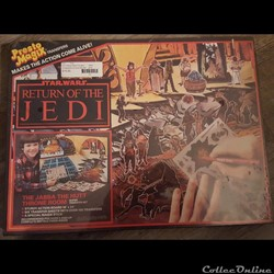 1983 - Star Wars ROTJ Jabba The Hutt Throne Room Transfer - Presto Magix