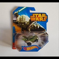 2014 - Hotwheels Yoda - Mattel