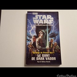 1996 - Livre : Le gant de Dark Vador - Pocket Junior