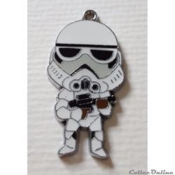 2015 - Pendentif Métal - Star Wars - Stormtrooper