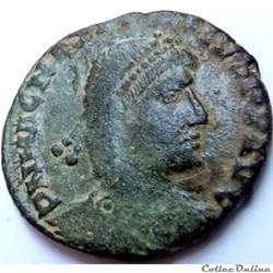 Magnus Maximus 383-388/Lyon/REPARATIO RE...