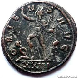 monnaie antique jc ap romaine aurelien 274 275 siscia oriens avg