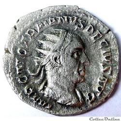 Trajan Dèce 250/Rome/RIC 16c