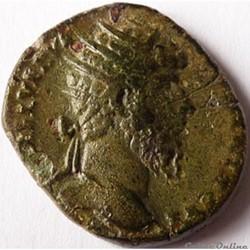 Lucius Verus 165/Dupondius/Rome/Absent d...