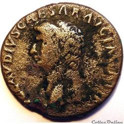 Claude 41-45/Dupondius/Rome/CERESAVGVSTA