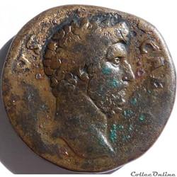 Aelius 137/Sesterce/Rome/RIC II 1055