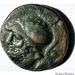 Monnaie du Bruttium 214-211 av JC