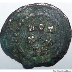 monnaie antique av jc ap romaine galere 297 298 carthage vot xx