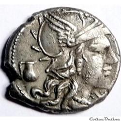 Gens Pompeia -137/Denier/Rome