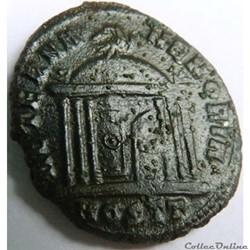 monnaie antique av jc ap romaine maximien 309 312 ostie aeterna memoria