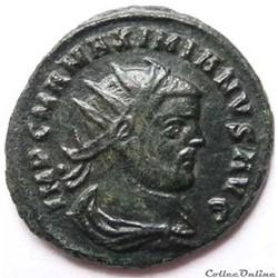 Maximien Hercule 291-292/Héraclée/CONCORDIA MILTVM.