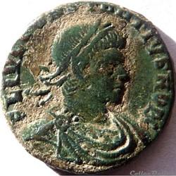 Constance II 330-331/Rome/GLORIA EXERCITVS