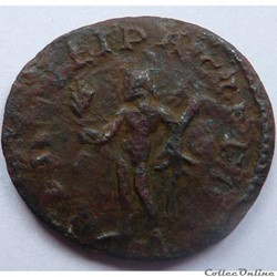 monnaie antique av jc ap romaine maximien hercule 287 lyon hercvli pacifero