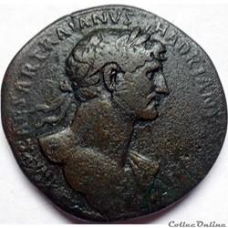 Hadrien 118/Sesterce/Rome/RIC II 551a