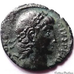 Constance II 347-348/Constantinople/VOT XX MVLT XXX.